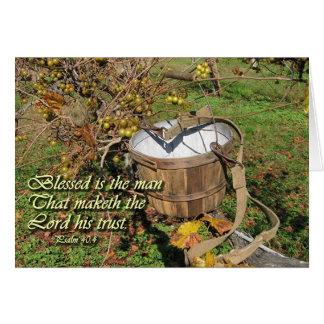 Psalm 40:4 card