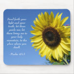 Psalm 43 - Inspirational Quotes Mousepad