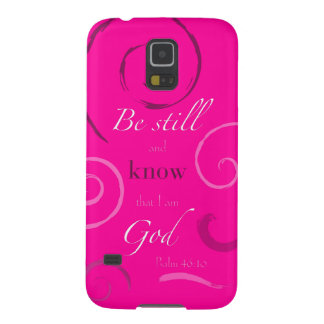 Psalm 46:10 Choose your own color! Customizable Galaxy S5 Cases
