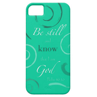 Psalm 46:10 Choose your own color! Customizable iPhone SE/5/5s Case