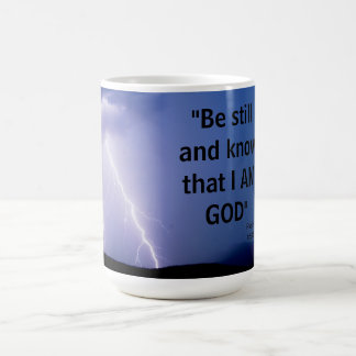 Psalm 46:10 coffee mug
