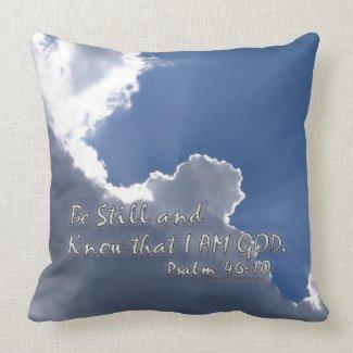 Psalm 46:10 pillow