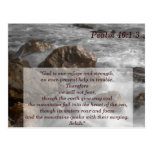 Psalm 46 1-3 Scripture Memory Card Post Card