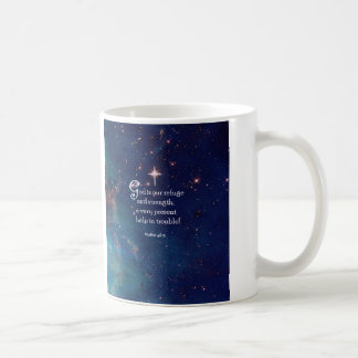 Psalm 46:1 coffee mug