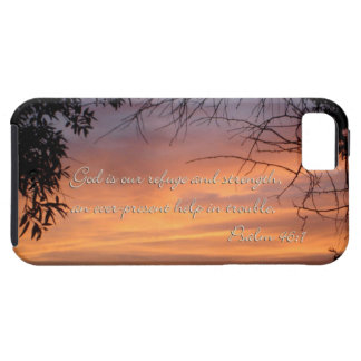 Psalm 46:1 God is our refuge & strength... iPhone SE/5/5s Case