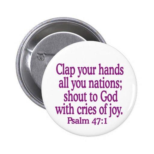 Psalm-47-1 Pins