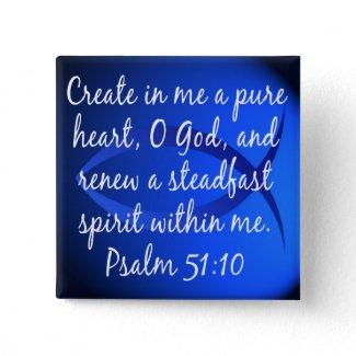 Psalm 51:10 button