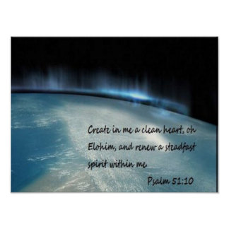 Psalm 51 10 posters