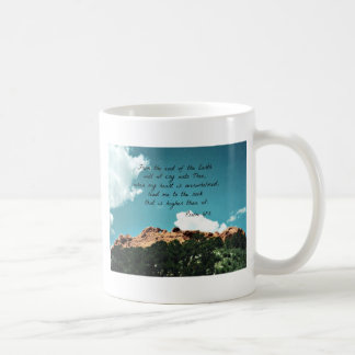 Psalm 61:2 From the end of the Earth... Coffee Mug