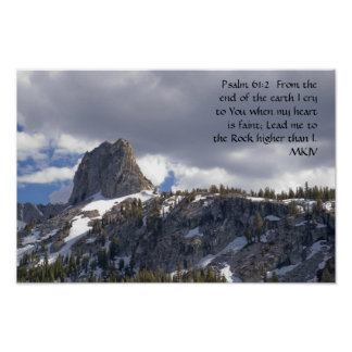 Psalm 61:2 poster