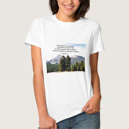 Psalm 62:1,2 T-Shirt
