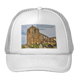Psalm 62:1 Old Stone Church Trucker Hat