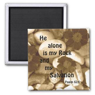 Psalm 62:6 salvation magnet