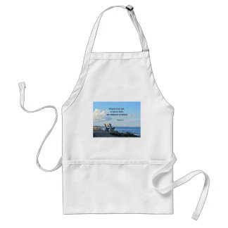 Psalm 68:19 Praise be to the Lord, to God .... Adult Apron