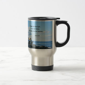 Psalm 68:19 Praise be to the Lord, to God .... Travel Mug