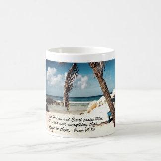 Psalm 69:34 coffee mug
