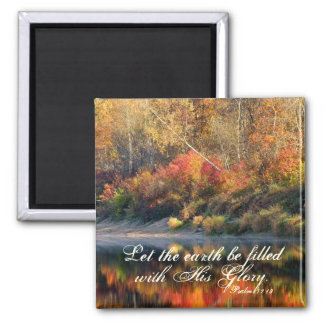 Psalm 72:19 Bible Verse God's Glory Magnet