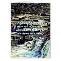 Psalm 78-16 - He Brought Streams ...