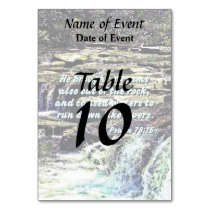 Psalm 78-16 - He Brought Streams ... Table Number