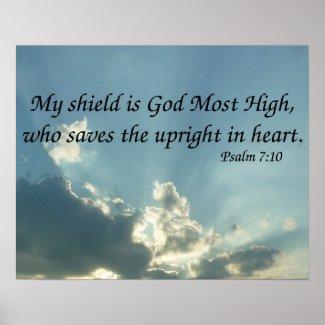 Psalm 7:10 print