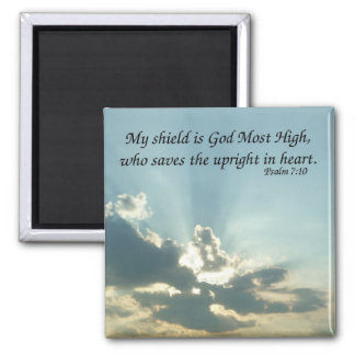 Psalm 7:10 refrigerator magnet