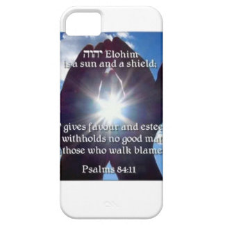 Psalm 84:11 iPhone SE/5/5s case