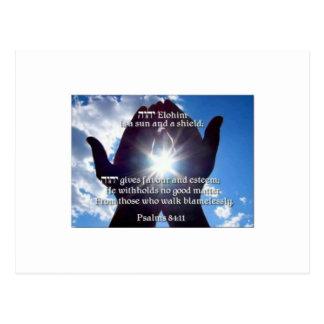 Psalm 84:11 postcard