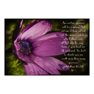 Psalm 86:11-12 Poster