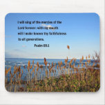 Psalm 89:1 mouse pad