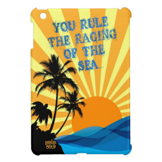 Psalm 89:9 Palm Trees Christian Bible Verse Quote Cover For The iPad Mini