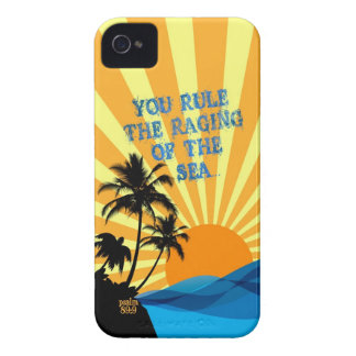 Psalm 89:9 Palm Trees Christian Bible Verse Quote iPhone 4 Cover