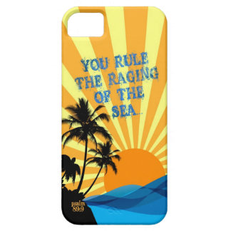 Psalm 89:9 Palm Trees Christian Bible Verse Quote iPhone SE/5/5s Case