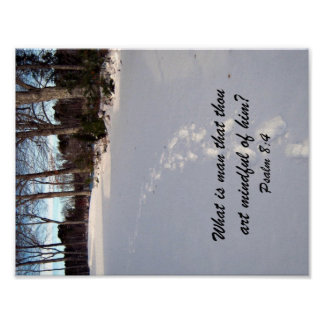 Psalm 8:4 posters