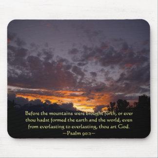 Psalm 90:2 Sierra Sunset Mouse Pad