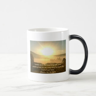Psalm 90 Coffee Mug - Satisfy Us in the Morning