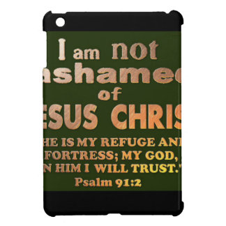 Psalm 91:2 cover for the iPad mini