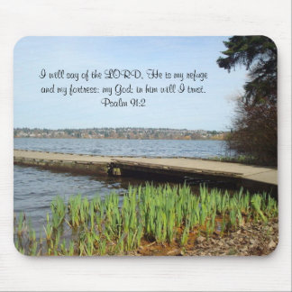 Psalm 91:2 Mouse Pad