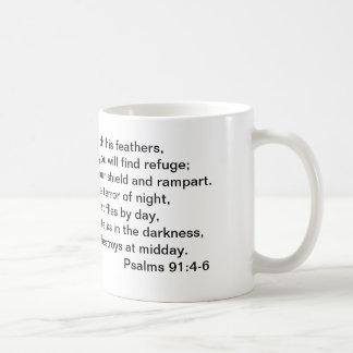 Psalm 91:4-6 Mug