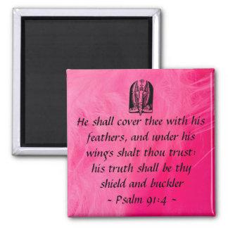 Psalm 91:4  magnet