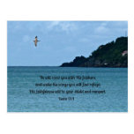 Psalm 91:4 postcard