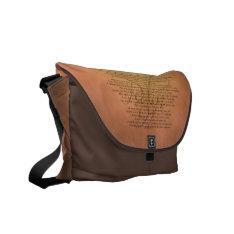 Psalm 91 Bible Verse Messenger Bag at Zazzle