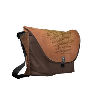 Psalm 91 Bible Verse Messenger Bags