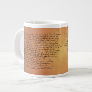 Psalm 91 Specialty Mug Jumbo Mug