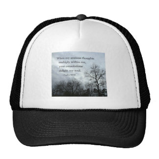Psalm 94:19 When my anxious thoughts multiply Trucker Hat