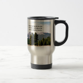 Psalm 95:1 O come let us sing unto the Lord... Travel Mug
