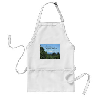 Psalm 95:4 In His hands are the depths Adult Apron