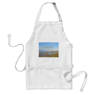 Psalm 95:5 The sea is His, for He made it... Adult Apron