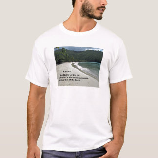 Psalm 96:9 Worship the Lord in the splendor... T-Shirt
