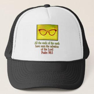 Psalm 98:3 trucker hat