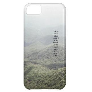 Psalm 99:9 iPhone 5C cases